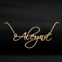 Custom Name Necklace Stainless Steel Personalized Women Necklaces Choker Customized Your Name Jewelry for Her Mothers Day Gift все цены