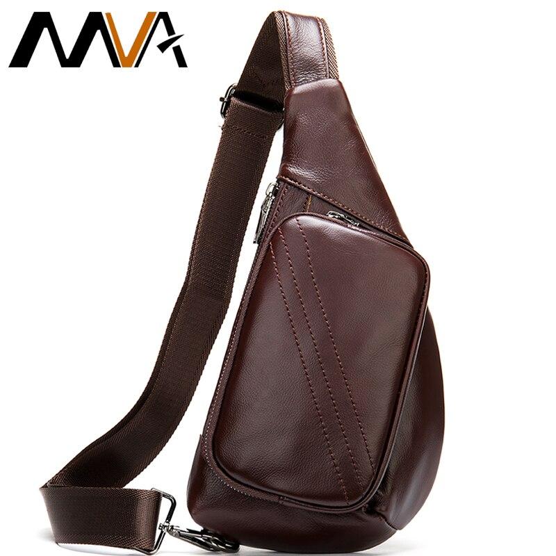 MVA 100% sac à bandoulière pour hommes en cuir véritable sac de messager pour hommes petits sacs à bandoulière pour hommes sac à bandoulière en cuir sacs à bandoulière hommes