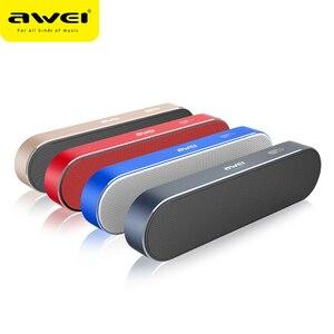 Image 1 - AWEI Y220 Portable Bluetooth haut parleur Hi Fi extérieur sans fil haut parleurs système de son 3D stéréo basse AUX musique Surround haut parleur