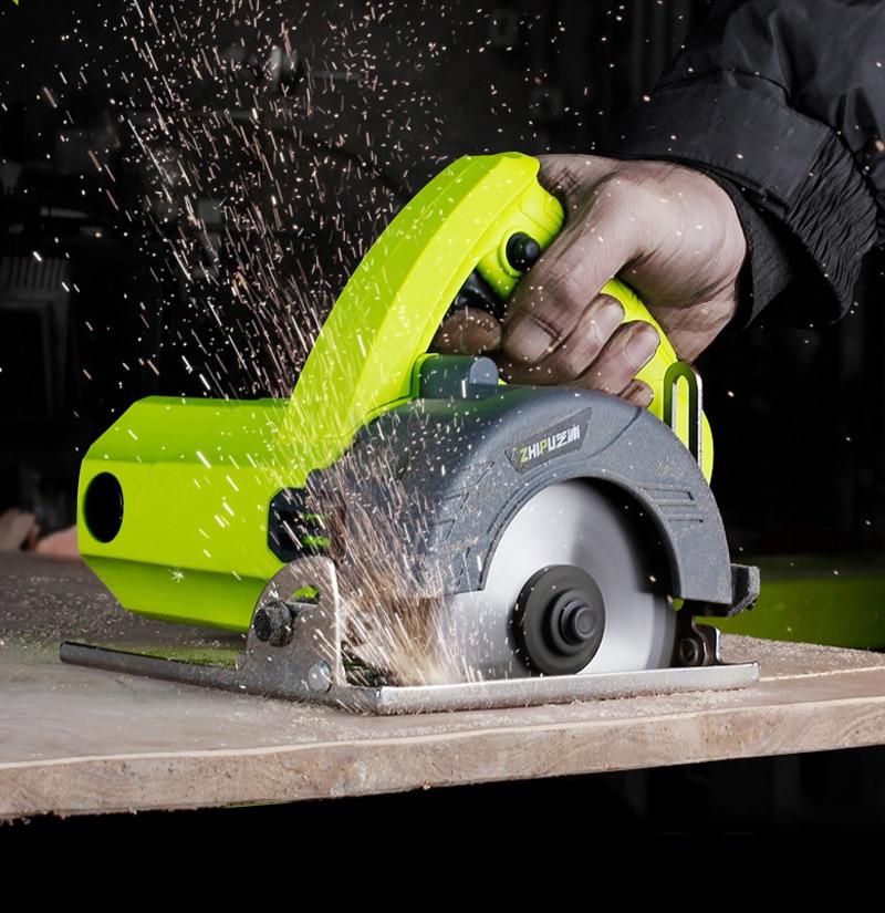 Electric Saw Circular 3800W Circular Saw Tools For Wood Metal Marble Tile Brick Household High Power Electric Cutting Machine