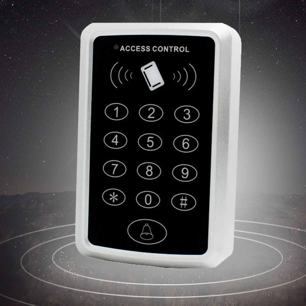 Avec 10 porte-clés empreinte digitale mot de passe système de contrôle d'accès entrée proximité sécurité à la maison carte à puce RFID Code pour serrure de porte