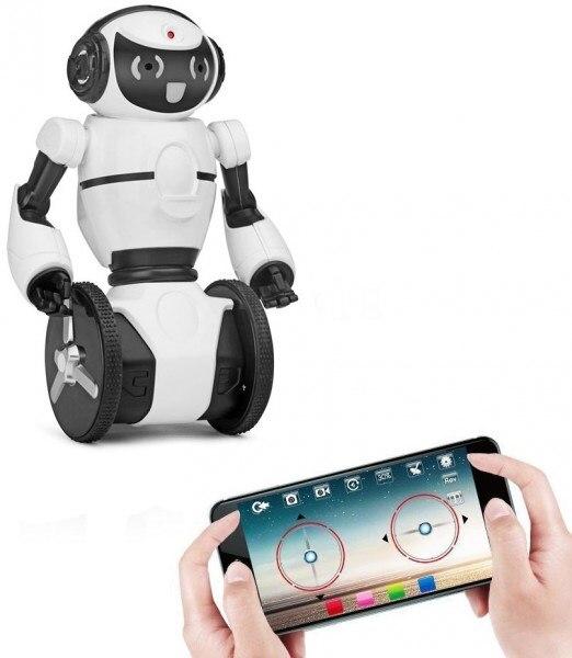 Robot blanco WL juguetes F4 C WiFi Cámara FPV control a través de APP WLT-F4