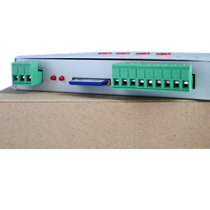 Image 3 - LED RGB controller T1000S SD Card Pixels Controller ,for WS2801 WS2811 WS2812B LPD6803 LED 2048 DC5~24V