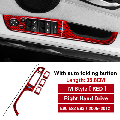 SBCX Window switch panel cover For BMW 3 Series E90 E92 E93 2005 ...