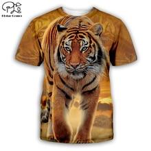 animal tee Tiger/wolf/lion/cat/dog/cow series t shirt men women 3D print sweatshirt harajuku style t shirt suit tops 7XL AN-005 men cow print tee