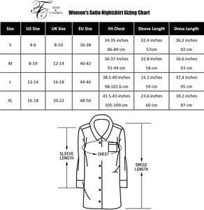 Image 5 - قميص نوم نسائي من توني آند كانديس ستان لباس نوم من الحرير فستان نوم نسائي مثير ملابس نوم سادة للنساء