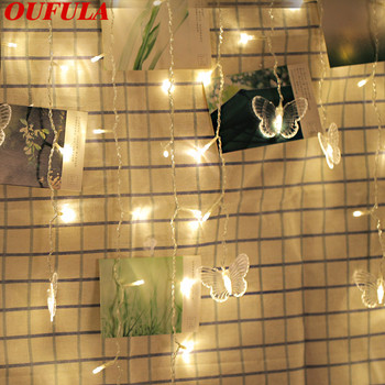 Decoration Butterfly Light String Romantic Room Of Diffuse Girl Led Gifts USB Battery For Holidays