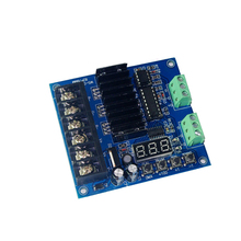3 Channel DMX512 Decoding Board High-frequency Maximum 8A Per Channel 3-channel DMX Controller with Digital Display