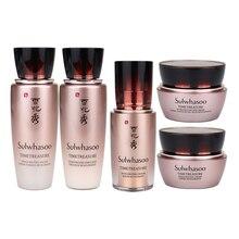 Face-Skin-Set SULWHASOO Korea 5pcs/Box Packaging RENOVATING 25ml TIMETREASURE 4ml Original