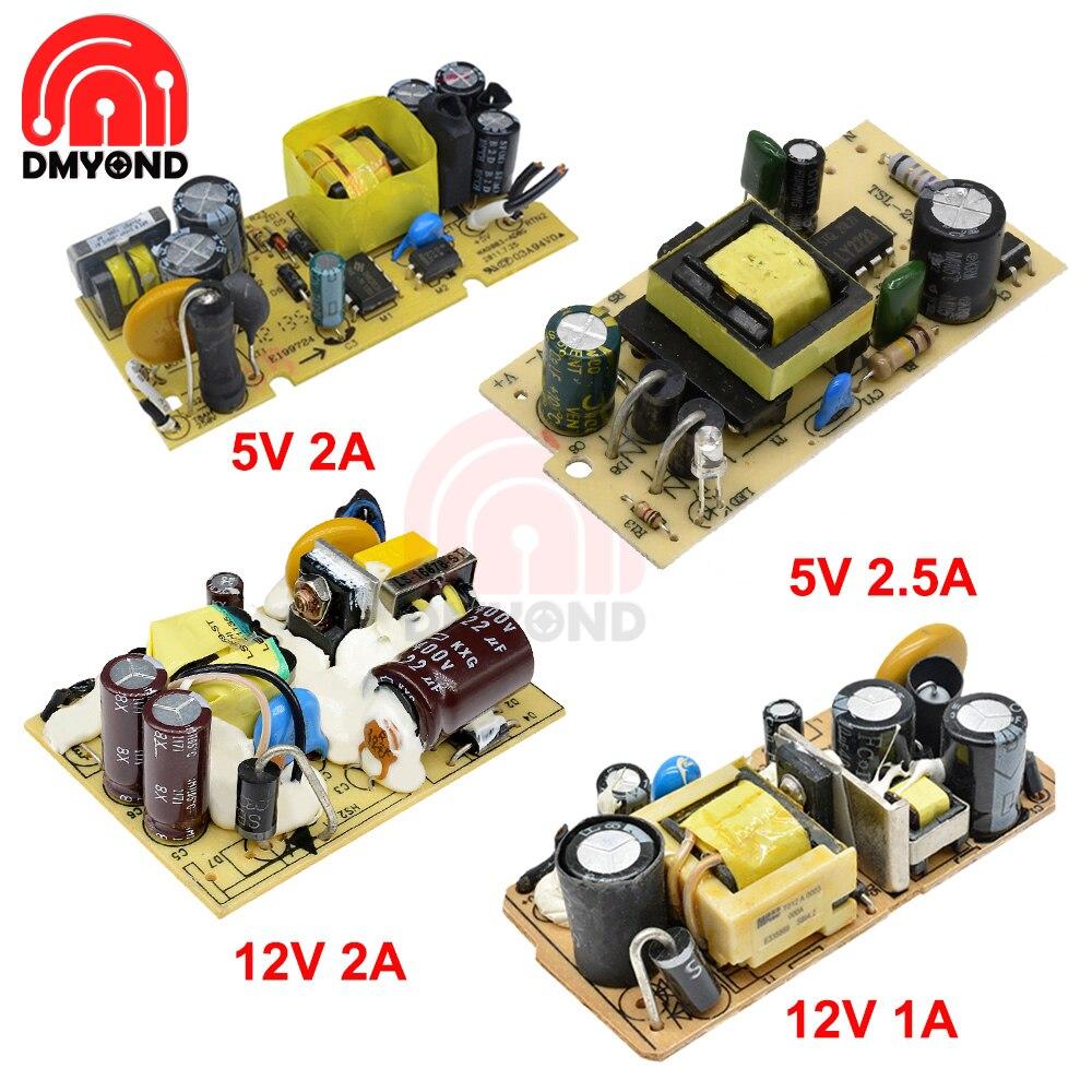 Переменный ток 100-240 В в постоянный ток 5 в 2 А/а 12 в 1 а/2 а переключатель модуля питания переключатель Защита от перенапряжения и короткого зам...