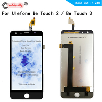 LCD For Ulefone Be Touch 2 / Be Touch 3 Touch2 Touch3 LCD Display with Touch panel Screen front outer glass Digitizer assembly|Mobile Phone LCD Screens| |  -