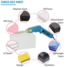 Torch Thermal Cutter Hand Held Electric Hot Knife Heat Cutter Foam Thermal Cutting Tools Heating Knife