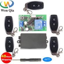 цена на 433Mhz Universal Wireless Remote Control Switch AC 85V ~ 250V 1CH Relay Receiver Module RF Transmitter Light Lamp Bulb SmartHome