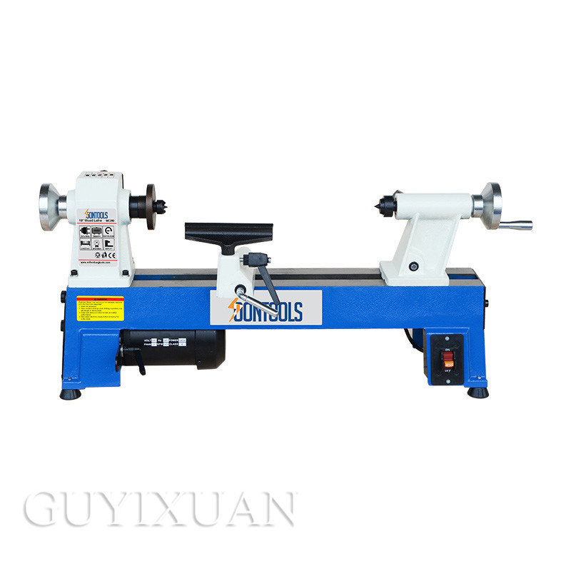 Multi-function Woodworking Lathe Small Household Lathe Digital Display Mini Lathe Wood Rotating Machine