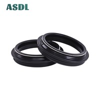 58 48x58x9/11 48X58  Motorcycle Front Fork Damper Oil Seal and Dust seal Dust Cover 48 58 9/11 (48*58*9/11) #d (4)