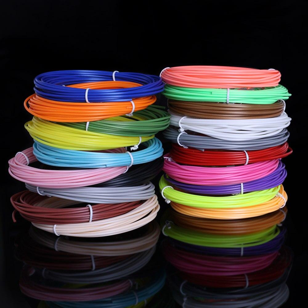 Original 100 meter 20 farbe pla 3d filament Keine verschmutzung materialien 3 d kunststoff für 3d stift oder 3d drucker kinder geburtstag geschenke