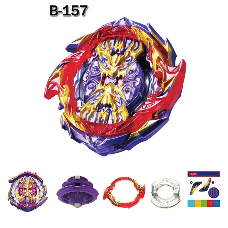 2020 New Beyblades Burst GT  B-157 Launchers Toys Toupie Bayblade Metal Fusion God Spinning Tops Bey Blade Blades Toy