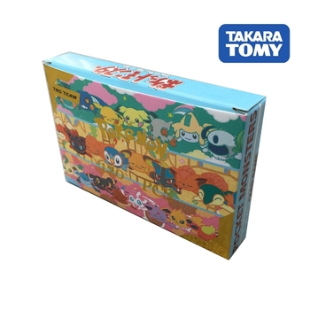 цена на 2020New 120pcs Pokemon cards TAG TEAM New version Flash Card Takara Tomy Game Trading card Kids Toys