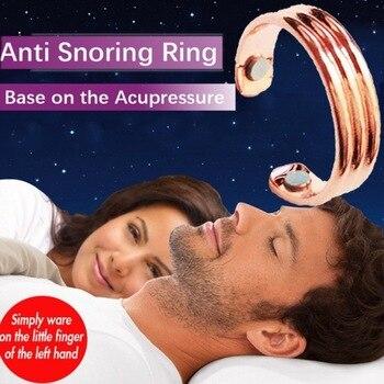 2019 Newly Acupressure Anti Snore Ring Titanium Alloy Treatment Reflexology Anti Snoring Apnea Sleeping Device Promotion Price 1