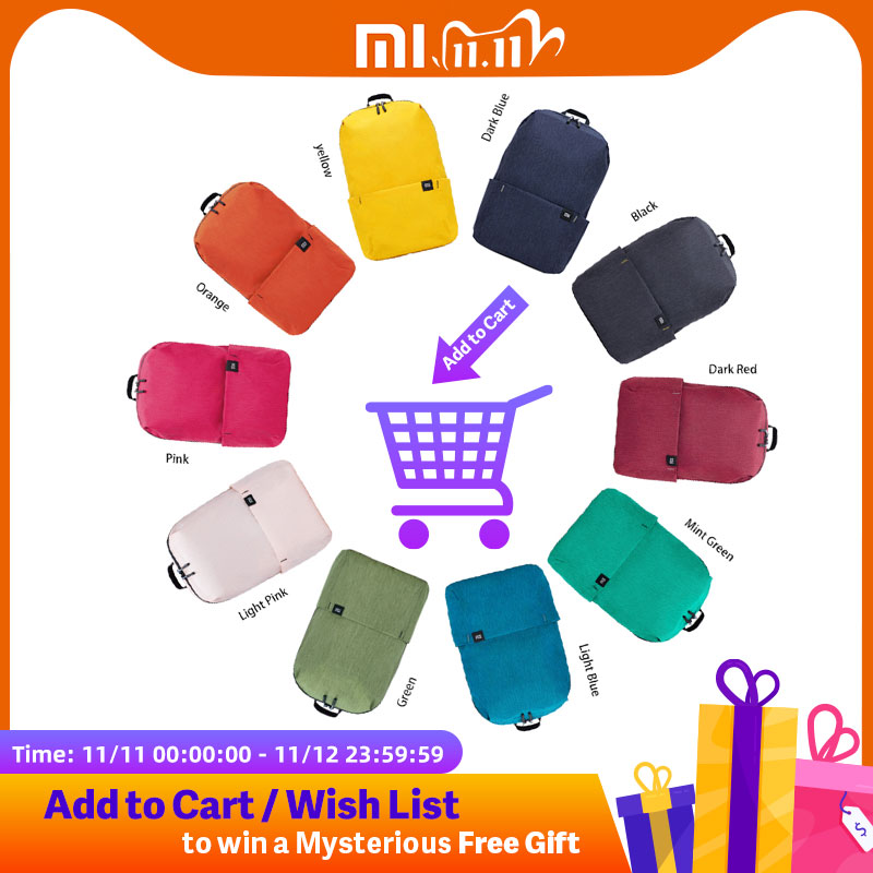 Xiaomi Mi Casual Backpack 10L Original Mi Leisure Sports Bag Lightweight Urban Unisex| | - AliExpress
