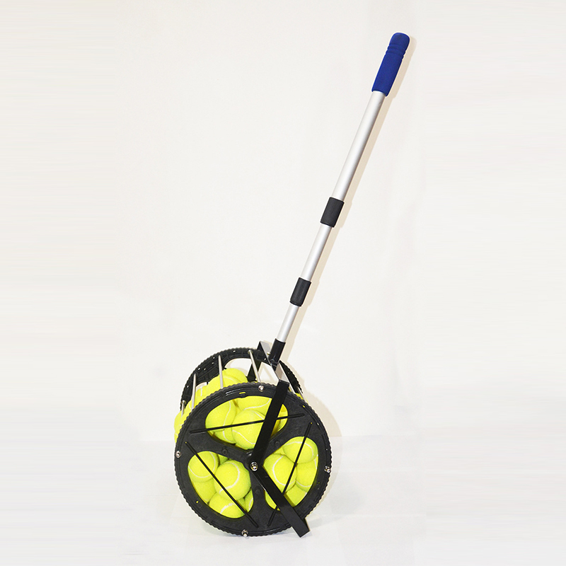 Tennis Ball Picker Tennis Recycler Pick Up Baskets Tennis Court Cleaning Aids