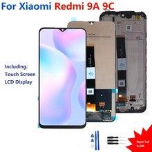 Оригинальный дисплей для Xiaomi Redmi 9A, сенсорный экран, ЖК-дисплей, дигитайзер в сборе для Redmi 9A, ЖК-дисплей