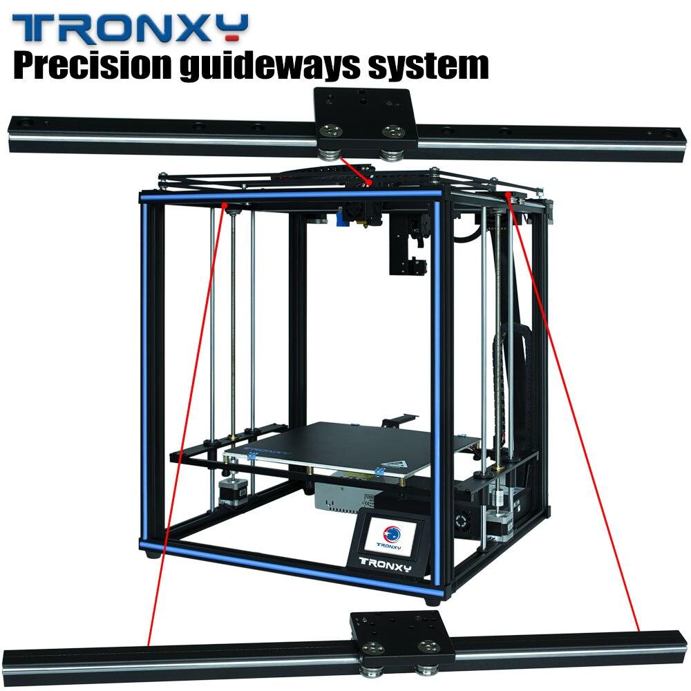 Направляющая CoreXY FDM DIY 3d принтер TRONXY X5SA PRO Titan экструдер гибкие нити Профессиональный 3d принтер