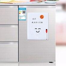 Whiteboard Magnets Refrigerator Memo Fridge Writing-Pad Drawing Kids Flexible Waterproof