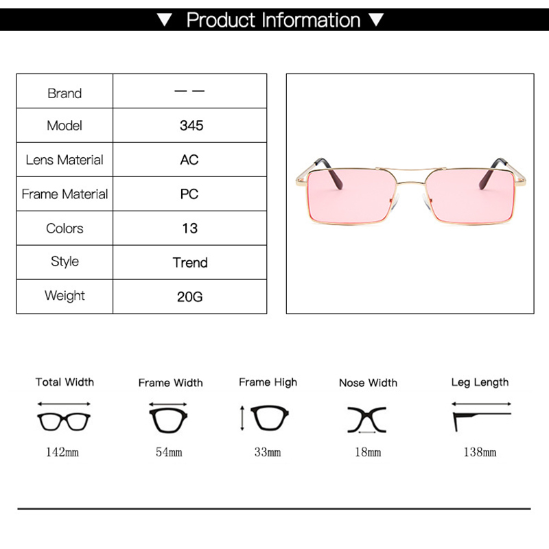 RBRARE Luxury Brand Designer Sunglasses Women 2019 High Quality Square Sunglasses Women Gothic Glasses Vintage Oculos Feminino 4