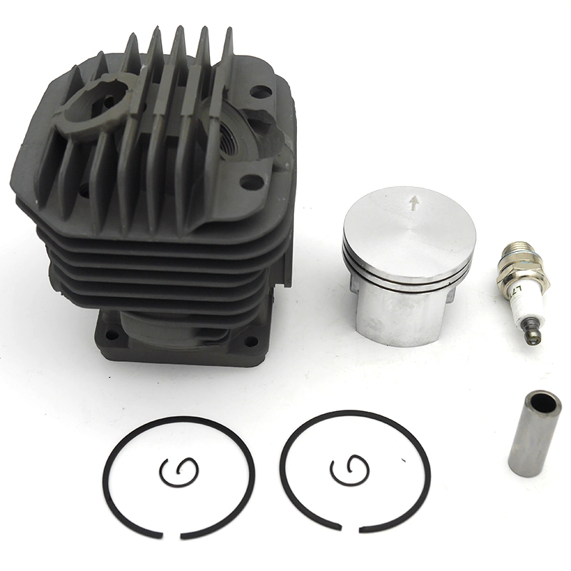 50mm Cylinder Piston Kit with Spark Plug Fit for Stihl 044 MS440 MS 440 Replace 1128-020-1201 1128-020-1227 Chainsaw