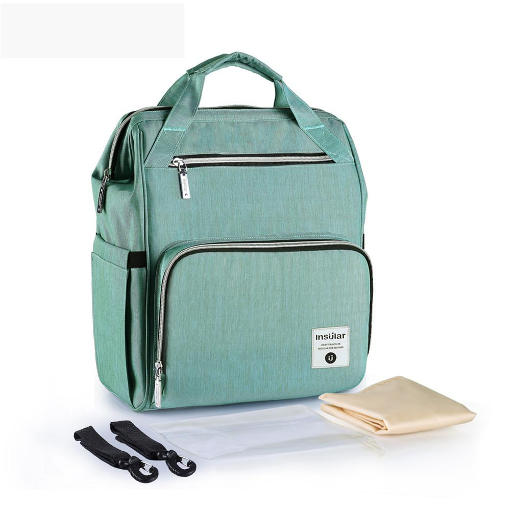 Kidlove Mummy Backpack Large Capacity Nappy Storage Bag Multi-functional Waterproof Outdoor Travel Stroller Hanging Pack
