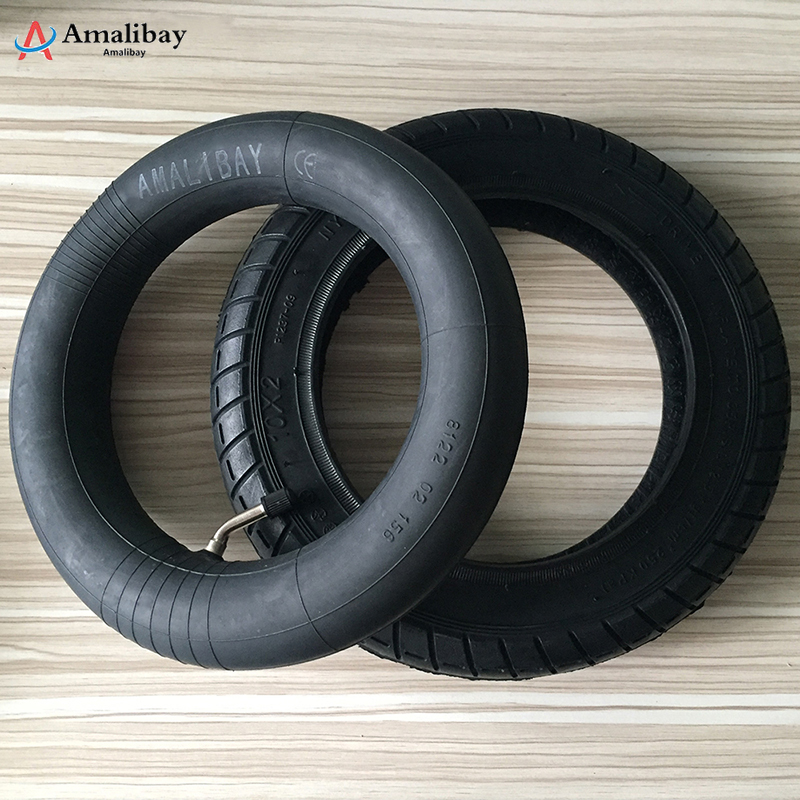 Upgraded 10 Inches Tires for Xiaomi M365 Pro Thicker Inflation Wheels Tyre Outer Inner Tube Pneumatic Tyre Xiaomi Scooter Tires(China)