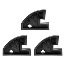 3個耐久性のあるナイロンビーズドロップセンター圧子クランプホイールリム実行フラットタイヤチェンジャーツール黒/白タイヤ修復ツール