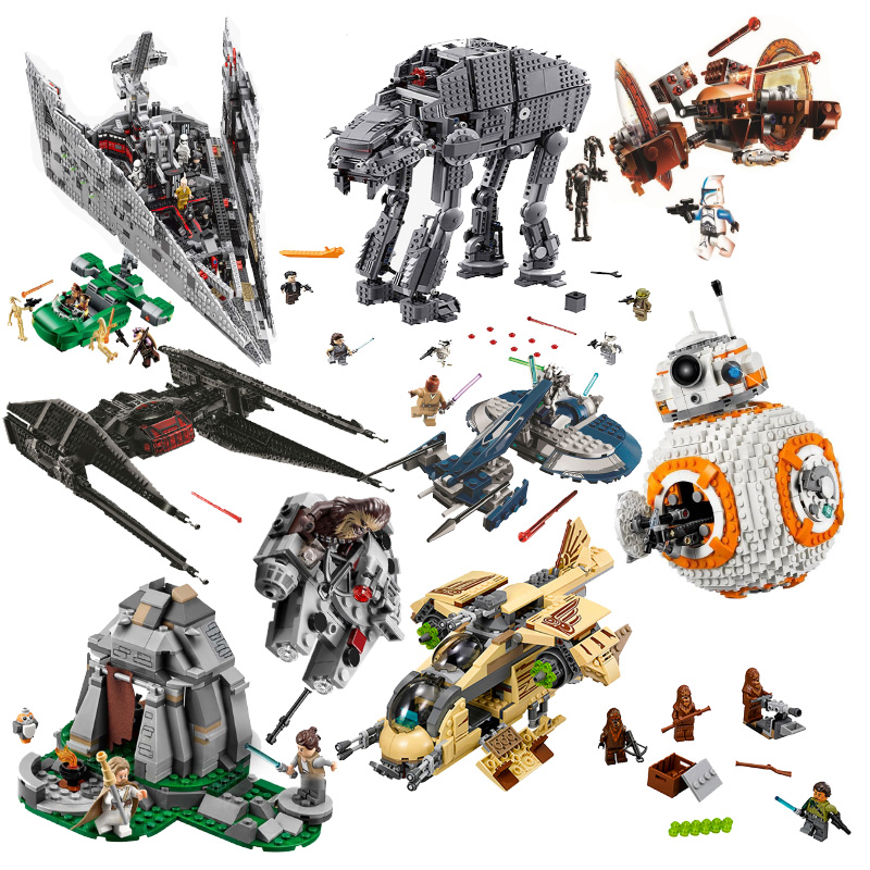 New Star Wars Tie Fighter Microfighters The Rise Of Skywalker With Building Blocks Lepining Star Wars Toys For Children Aliexpress