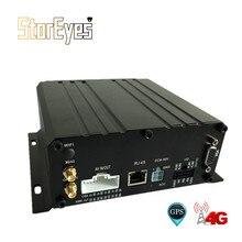 720P AHD 4 канала HDD SD карта прицеп грузовик такси автомобиль школьный автобус Мобильный DVR встроенный gps 4G