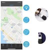 Neue Smart Tag Drahtlose Bluetooth Tracker Kind Tasche Brieftasche pet Key Finder GPS Locator Anti-verloren alarm Erinnerung