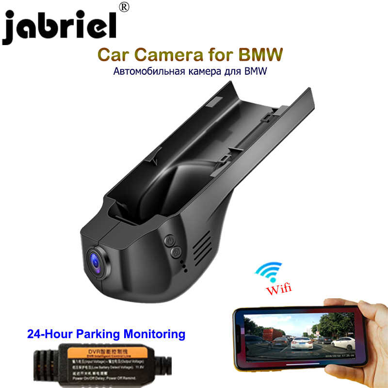 Jabriel hidden 1080P car camera 24 Hour recorder dvr dash cam dual lens for BMW 1/3/5/X1/X3/X5 f10 f15 f20 f25 f30 f40 f48 g30