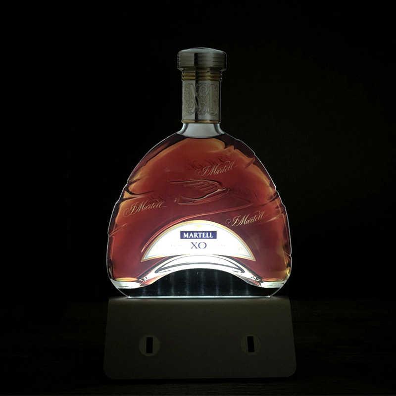 מותאם אישית LED לילה אור 3D מנורות לילה אקריליק לוח מודעות חלב תה קפה חנות מסעדה בר זוהר תפריט מותג שולחן מנורת USB