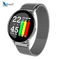 Умные часы женские часы мужские водонепроницаемые фитнес-трекер Браслет спортивный монитор сердечного ритма Smartwatch W8 Браслет Для Xiaomi