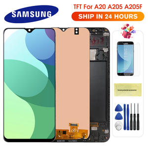 For Samsung Galaxy A20 A205 SM-A205F LCD Display Touch Screen Digitizer Replacement for Samsung A20 A205 A205F display screen(China)