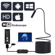 1200P Endoscope Camera Wireless Endoscope USB Borescope for IOS iPhone Android Samsung Smartphone PC camara endoscopica endoskop