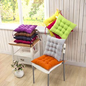 Solid Seat Cushion Dining Room