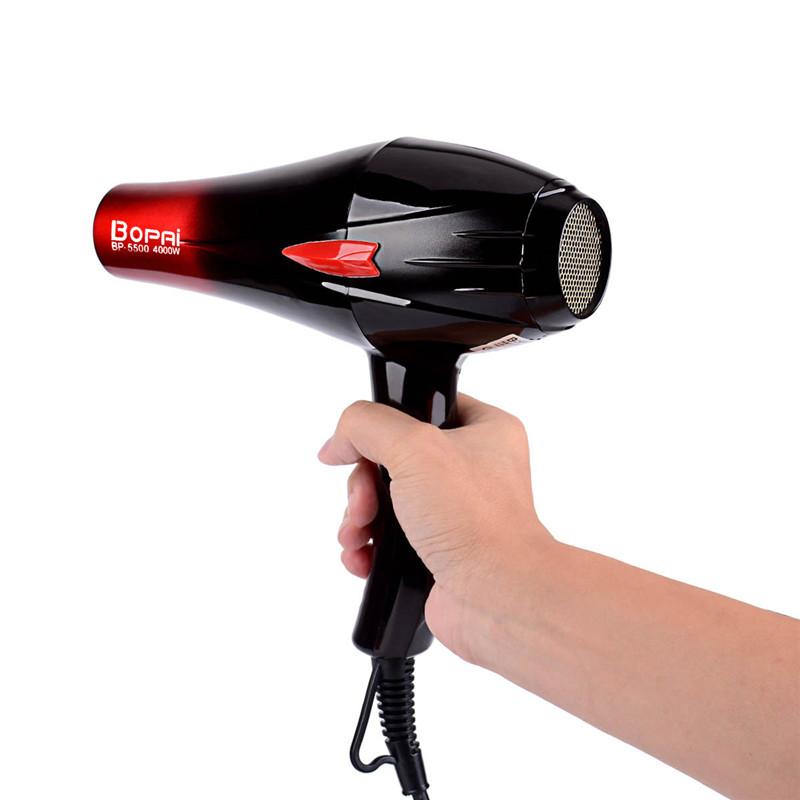 Image 3 - Professional Electric 4000W Travel Household Hair Dryer Hair Styling Tools Blow Dryer Hot and Cold Air Dryer Salon With Nozzle-in Hair Dryers from Home Appliances
