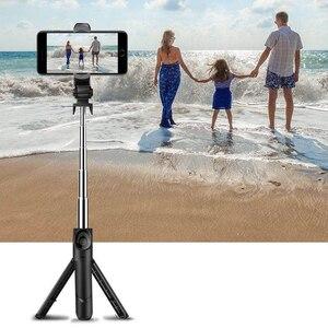 Image 5 - Gosear soporte para teléfono palo de Selfie portátil, extensible, plegable, Bluetooth, accesorio para Android IOS