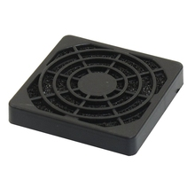 PC Computer Black Plastic Dustproof Filterable 40mm Fan Filter Guard
