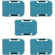 5Pcs Battery Storage battery case battery holder Rack Holder Case for Makita 18V Fixing Devices
