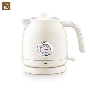 Image 1 - Электрический чайник с контролем температуры, большой емкости 1,7л с часами