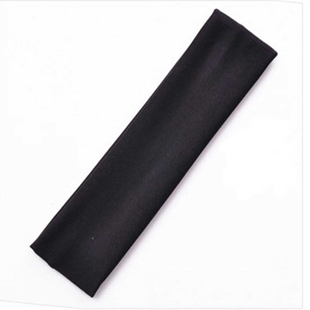 1PC di Modo di Assorbire Il Sudore Yoga Della Fascia di Colore Della Caramella Hairband Accessori Per Capelli