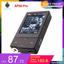 HIDIZS AP60 Pro Bluetooth Portable Mini Hi Res Music Player MP3 with ES9118C DAC Support DSD64/128 PCM 384kHz/32bit Hiby Link