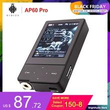 HIDIZS AP60 Pro Bluetooth taşınabilir Mini yüksek çözünürlüklü müzik çalar MP3 ile ES9118C DAC desteği DSD64/128 PCM 384kHz/32bit Hiby bağlantı